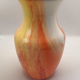 """Tropical Punch"" Vase"